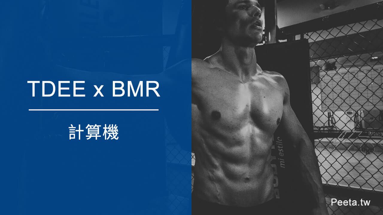 TDEE與基礎代謝率BMR計算機